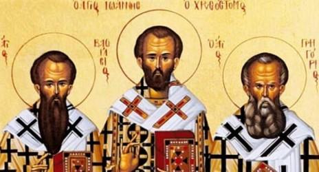 Η γιορτή των Τριών Ιεραρχών