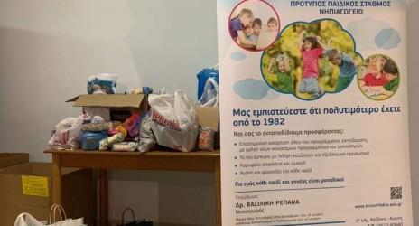 """Ευχαριστήριο για τους γονείς των παιδιών και την ιδιοκτήτρια του Ιδιωτικού  Νηπιαγωγείου – Πρότυπου Παιδικού  Σταθμού """"Τα Στρουμφάκια"""""""