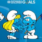 Τα Στρουμφάκια στέλνουν μήνυμα στον κόσμο, σε όλα τα παιδιά «να προσέχετε τον πλανήτη»