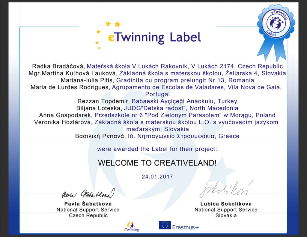 etw_certificate 2017 welcome to creative land